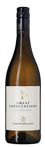 6 Flaschen Great Expectations The Good Earth Sauvignon Blanc 2019 Goedverwacht Wine Estate im Sparpack (6x0,75l), trockener Weißwein aus Südafrika