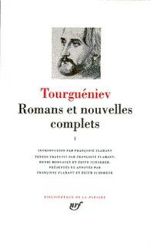 Tourguéniev : Romans et nouvelles complets, tome 1