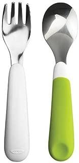 OXO Tot Training Fork & Spoon Set- Green