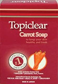 Topiclear Carrot Soap 7 oz. (Pack of 2)