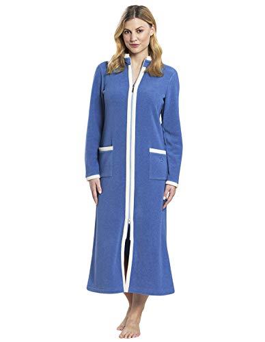 Damen Morgenmantel Smokey Blue 40