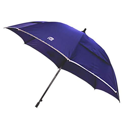 MPB vervangingsscherm voor rolgordijn, kleur blauw, reflecterende rand, Air-Vent-systeem, met schroef en huls voor bevestiging