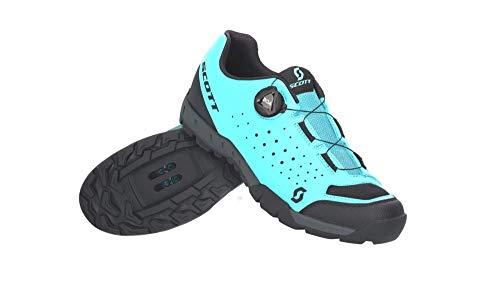 SCOTT Zapatilla Sport Trail EVO Boa Lady Ciclismo, Mujer, LT Blue/BLK, 39