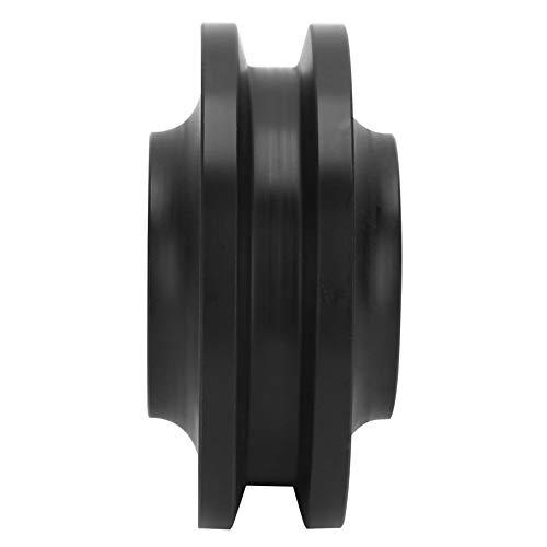 Rueda de puerta deslizante resistente y fácil de instalar, accesorios para puerta de granero, rueda de polea, puerta de granero para el hogar