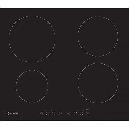 Véritable INDESIT 6 mm noir et plaque de cuisson Bouton de commande