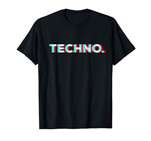 Techno Trance Trip Raver Goa Psytrance Psychedelic Party T-Shirt