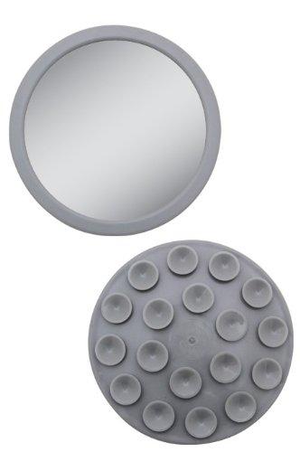 EZ-Grip - Petit miroir grossissant 12x - Couleur: Gris