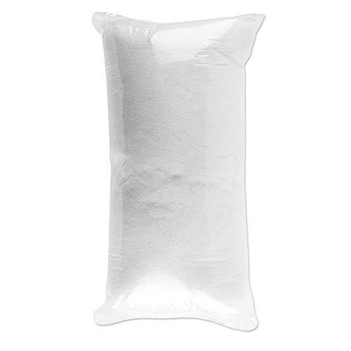 Flauschige Füllwatte für Kuscheltiere, Kissen, uvm. | weiß, waschbar, Öko-Tex-zertifiziert, 0,5 kg