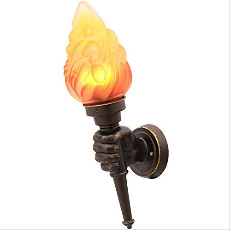 Fackel Lamp Alloy Modern Vintage Loft Iron Industrial Rustic Sconce Wall Light