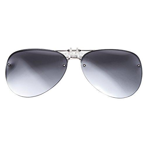 TERAISE Blendschutz Polarisierter Clip-On Sonnenbrillen für Männer und Frauen Passend für Fahren Angeln Sport im Freien