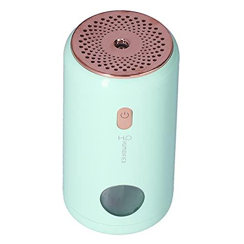 Pinsofy Humidificador De Coche, Humidificador USB Silencioso, Portátil, 2 Engranajes, Humidificación para Dormitorio, Oficina, Hogar(Verde)
