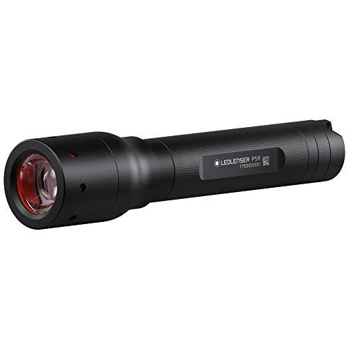 Ledlenser 500897 Professionelle wiederaufladbare P5R LED-Taschenlampe, schwarz