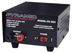 Pyramid PS4KX 3 Amp Power Supply