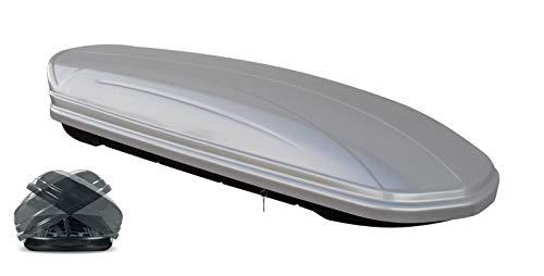Menabo Mania Duo 580L - 580 Liter Dachbox silber