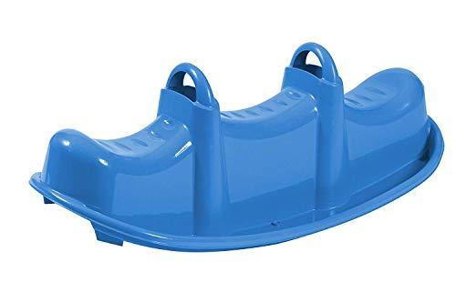 WAC DONDOLO da Giardino in Plastica Solo per Uso Domestico. Dondolo Triplo per il Divertimento dei Più Piccoli Età Minima Consigliata 12 mesi.
