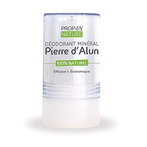 Organic Alum Stone Mineral Deodorant 115 g 100% Natural Alcohol Fragrance...