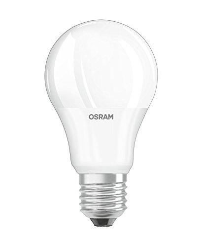 Osram LED Star+ Daylight Sensor Classic A Lampe, in Kolbenform mit E27-Sockel, integrierter Tageslichtsensor, Ersetzt 40 Watt, Matt, Warmweiß - 2700 Kelvin, 1er-Pack
