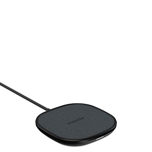 mophie Wireless 10W Charging Pad - Made for Apple Airpods, Iphone 11 Pro Max / XS Max, iPhone 11 Pro / XS, Iphone 11 / XR and Other Qi-Enabled Devices - Black, Model: 409903381