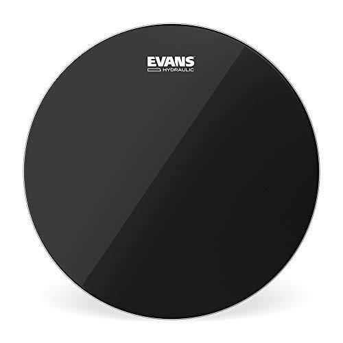 Evans Black Hydraulic Bass Drum Head - 22 Inch