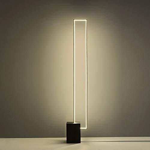 YXYOL Kreative LED-Stehleuchte mit Fernbedienung Innendekor, Nordic Minimalist Tricolor Light Metal Stehleuchten für Wohnzimmer Schlafzimmer Bürodekoration, 30W