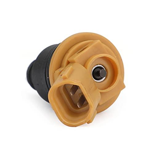 Lyqfff for Subaru Sti WRX GC8 2005-2011, 550cc Yellow Side Fuel Injectors 16600 AA170 16600AA170 Car Auto Accessories Parts