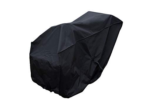Comp Bind Technology Black Nylon Cover for Cub Cadet Ultima Series ZT2 60 in. Fab Deck 24HP Kawasaki V-Twin Zero Turn Mower, Weather Resistant Dimensions 71''W x 80''D x 47''H