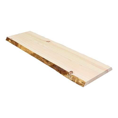 送料無料 一枚板 無垢 ひのき 檜 桧 棚板 棚 カウンター 机 天板 板 桧 ヒノキ 天板 無垢板 ウッドボード シェルフボード