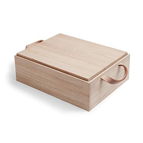 Skagerak Norr Brot-Box Brotkasten aus Eiche