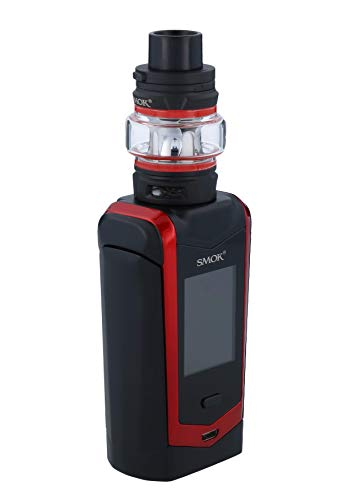 "Ufficiale SMOK Species V2 230W Sigaretta Elettronica Kit Completo, TFV-Mini V2 2ml Svapo Advanced Kit, 1.45"" HD Touch Screen, VW Temp Control Vapore Senza Nicotina - Black-Red"