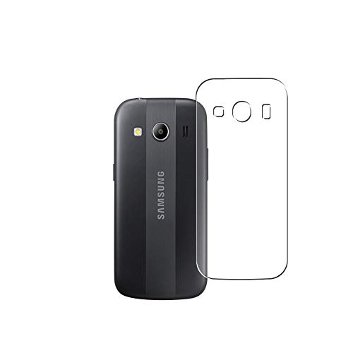 Vaxson 2 Stück Rückseite Schutzfolie, kompatibel mit Samsung Galaxy Ace Style LTE G357/Ace 4 G357FZ/Ace Styl, Backcover Skin TPU Folie Haut [nicht Panzerglas Bildschirmschutzfolie Hülle Hülle ]