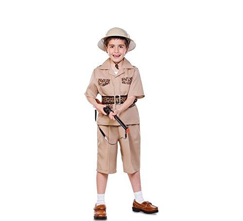 Fyasa 706336-T03 Explorer Feestkleding Kostuum voor 10 tot 12 jaar, Multi-Color, Medium