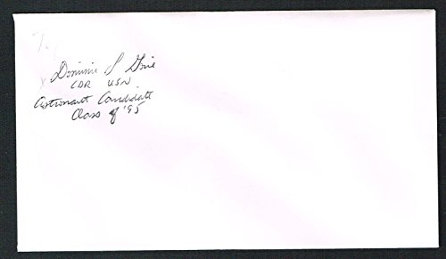 Dominic L. Pudwill Gorie signed autograph auto Envelope / Cover NASA Astronaut