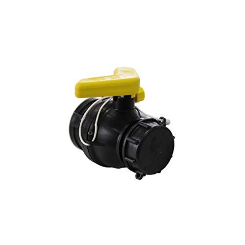 Vanne à bille 56mm avec écrou flottant et joints LDPE