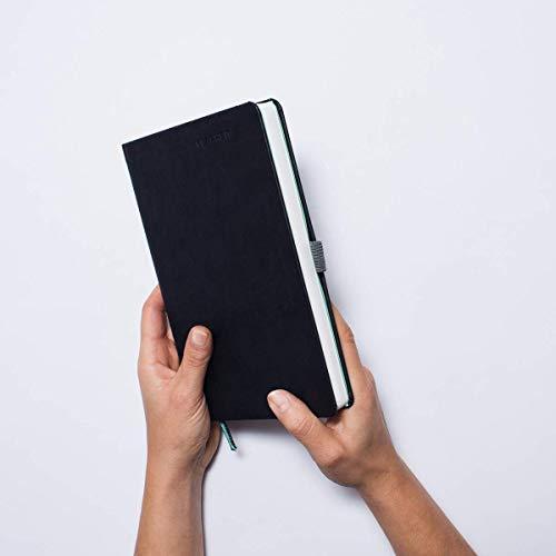 KLARHEIT KALENDER undatiert mit 52 Wochen (A5) – dein Organizer, Terminplaner, Notizbuch und Terminkalender, mit Life-Coach zur Selbstreflexion & Persönlichkeitsentwicklung, dunkel