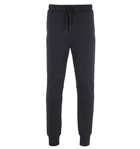 Lyle & Scott Sweat Pant Pantalon, Noir véritable, 34-37 Homme