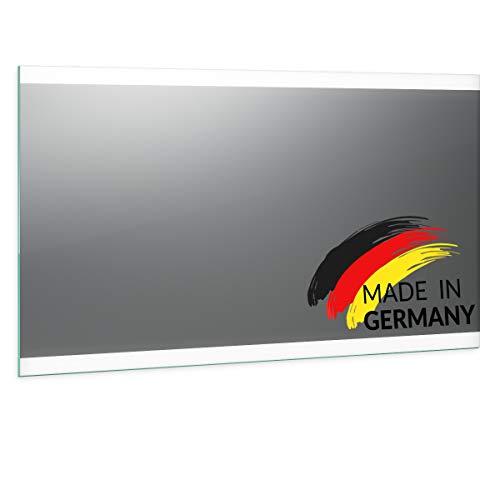 Spiegel ID Noemi 2020 Design: LED BADSPIEGEL mit Beleuchtung - Made in Germany - individuell nach Maß - Auswahl: (Breite) 160 cm x (Höhe) 80 cm