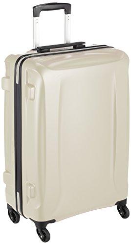 [レジェンドウォーカー] スーツケース ジッパー ハードスーツケース 軽量 双輪 5201-58 保証付 56L 65 cm 3.3kg アイボリー