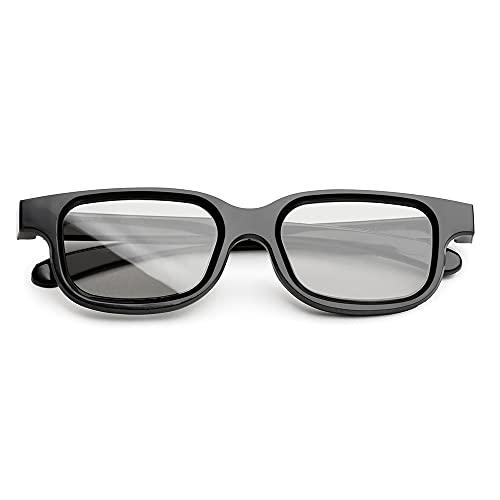 Occhiali 3D Polarizzazione passiva Tecnologia 3D RealD Occhiali leggeri per proiettori TV Home Film Teatri Cinema