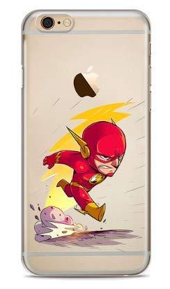 Art Design Funda para iPhone 6 / iPhone 6S The Flash DC Comics Super héroe Marvel Super Hero Carcasa de Moviles Caso Silicón