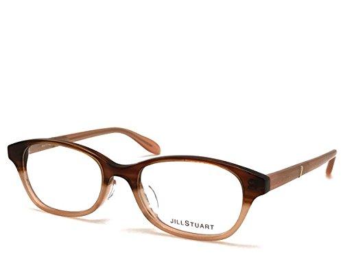 (ジルスチュアート) JILL STUART マーブルブラウン メガネフレーム 眼鏡 JS-05-0801-02