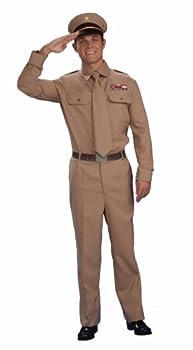 Forum Novelties mens World War Ii General Adult Sized Costumes Brown Standard US
