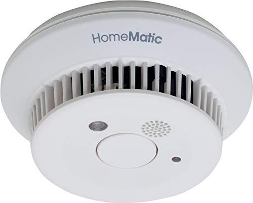 HomeMatic Funk-Rauchwarnmelder vernetzbar und funktionstüchtig auch ohne Zentrale CCU2