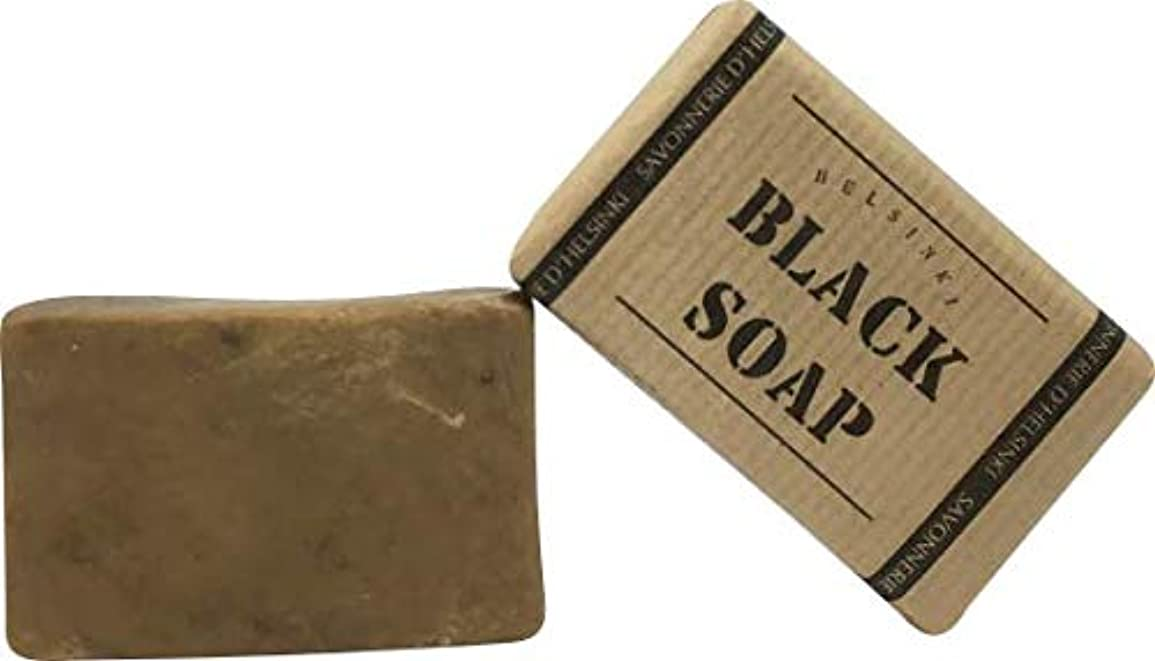 症候群遷移パワーセル89028 The BLACK SOAP (ブラックソープ) 80g 【Helsinki Soap Factory (ヘルシンキソープファクトリー)】