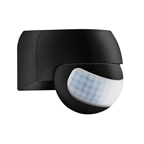 ESYLUX Bewegungsmelder MD 180 Basic schwarz schwarz 180 Grad Basic Bewegungsmelder komplett 4015120055096