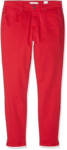 Tommy Hilfiger Damen Como RW Ankle CLR Skinny Jeans, Rot (True Red 634), W27/L32 (Herstellergröße: 3227)