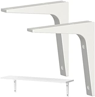 Ikea Shelf Bracket, Pack of 2, White