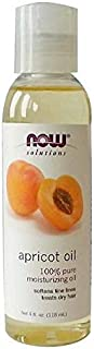 Now Foods Apricot Oil Pure Moisturizing Softens Fine Lines & Treats Dry Hair (118 ml)