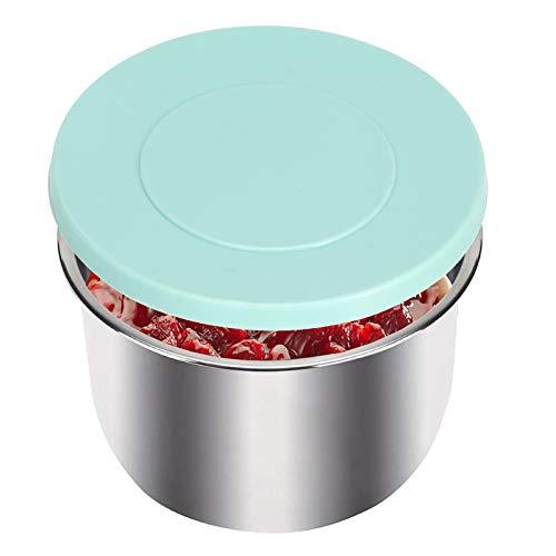 Uxsiya Tapa de Olla a presión Tapa de Olla de Silicona sin deformación para microondas para panadería
