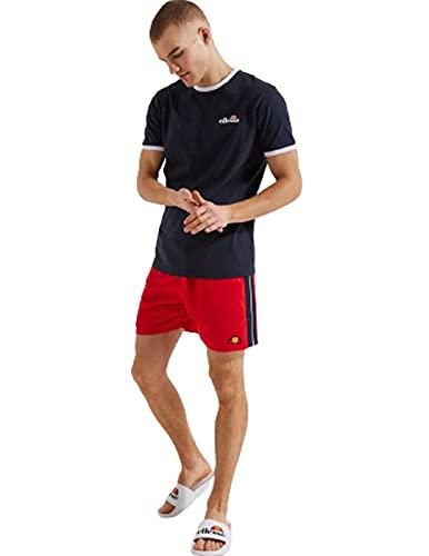 ellesse Badehose Herren Genoa Swim Short Red Rot, Größe:L
