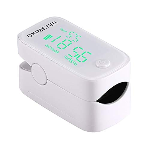 Hot Koop kinderen en volwassenen Finger Clip Oximeter LED scherm Finger Pulsoximeter (Color : Black)